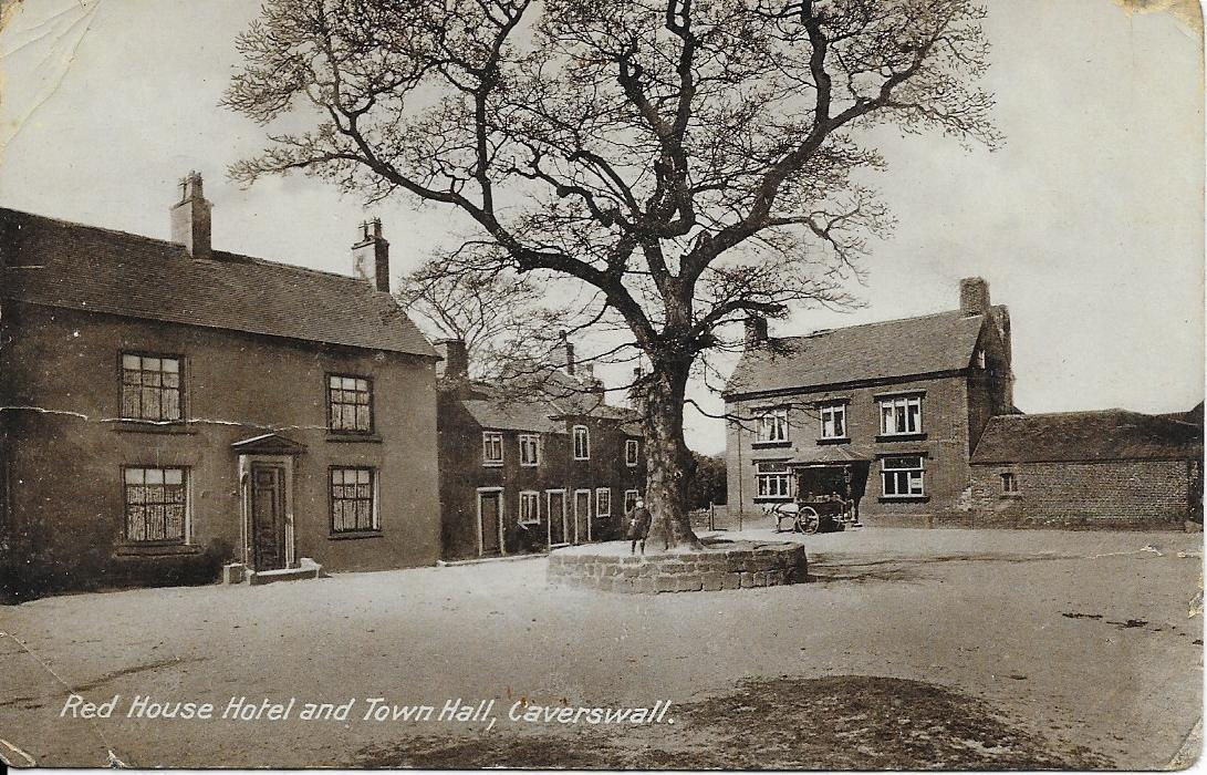 1. Caverswall : The Village Square c1915