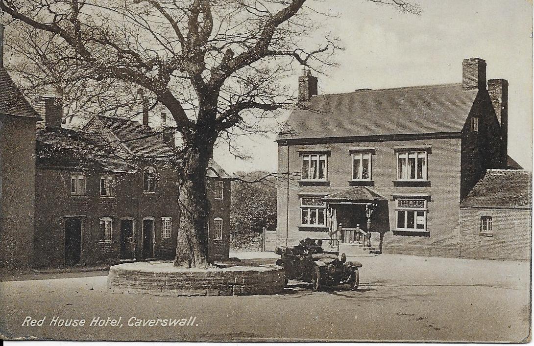 2. Caverswall : The Village Square c1915