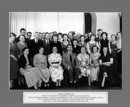 Photo of Annual Dinner Group 1958