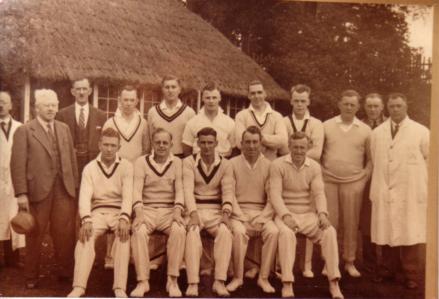 Photo of Cricket Team 1935