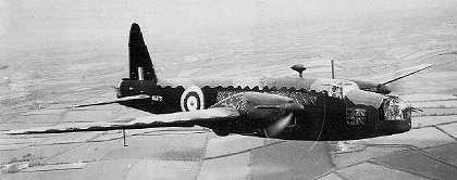 Photo of Wellington Bomber Aircraft