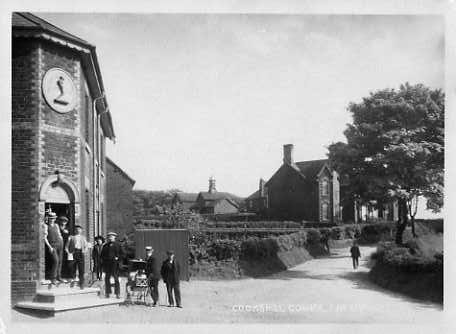 Photo of the Auctioneers Arms taken in the 1920s