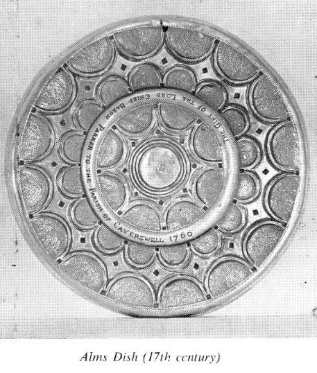 St Peters Church Alms Dish 17th Century