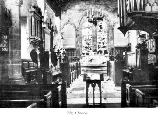 St Peters Church Chancel