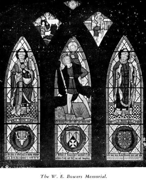 St Peters Church W.E. Bowers Memorial Window