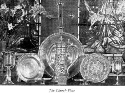 St Peters Church The Church Plate