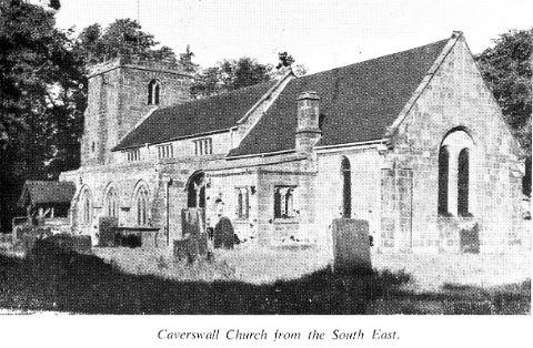 St Peters Church exterior photo c1948